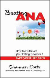 Beating Ana is my first book - it is all about how peer mentoring can support you or someone you love as they recover.